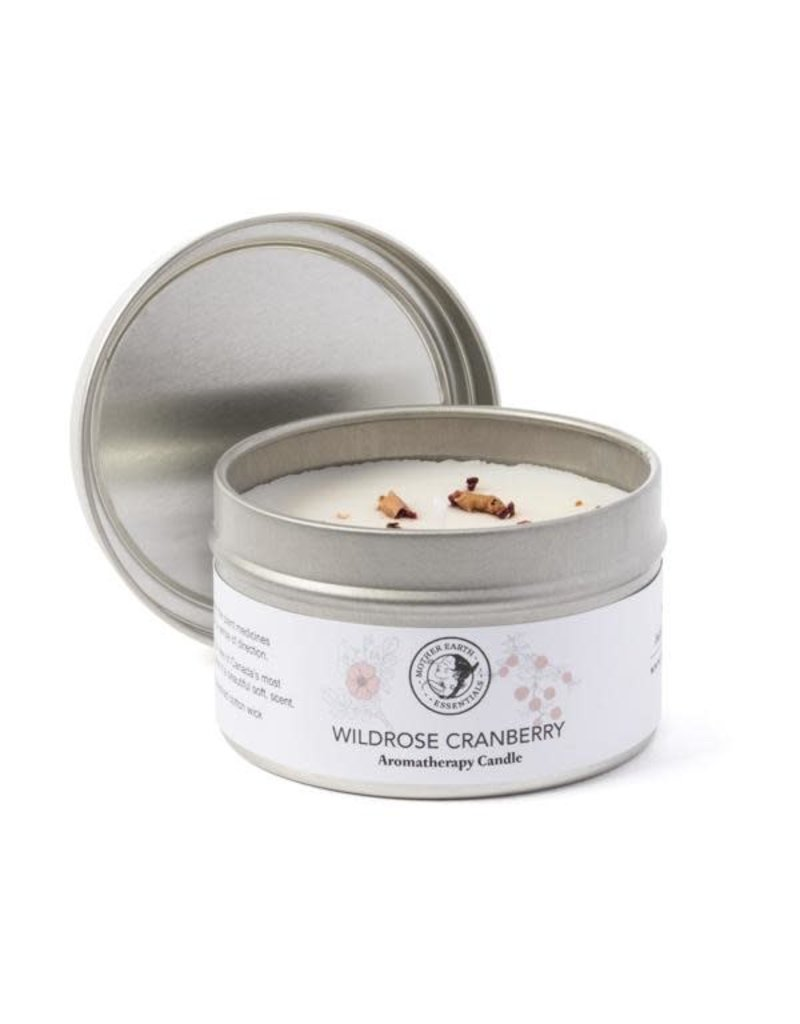 Mother Earth Essentials Wild Rose Candle- Mother Earth