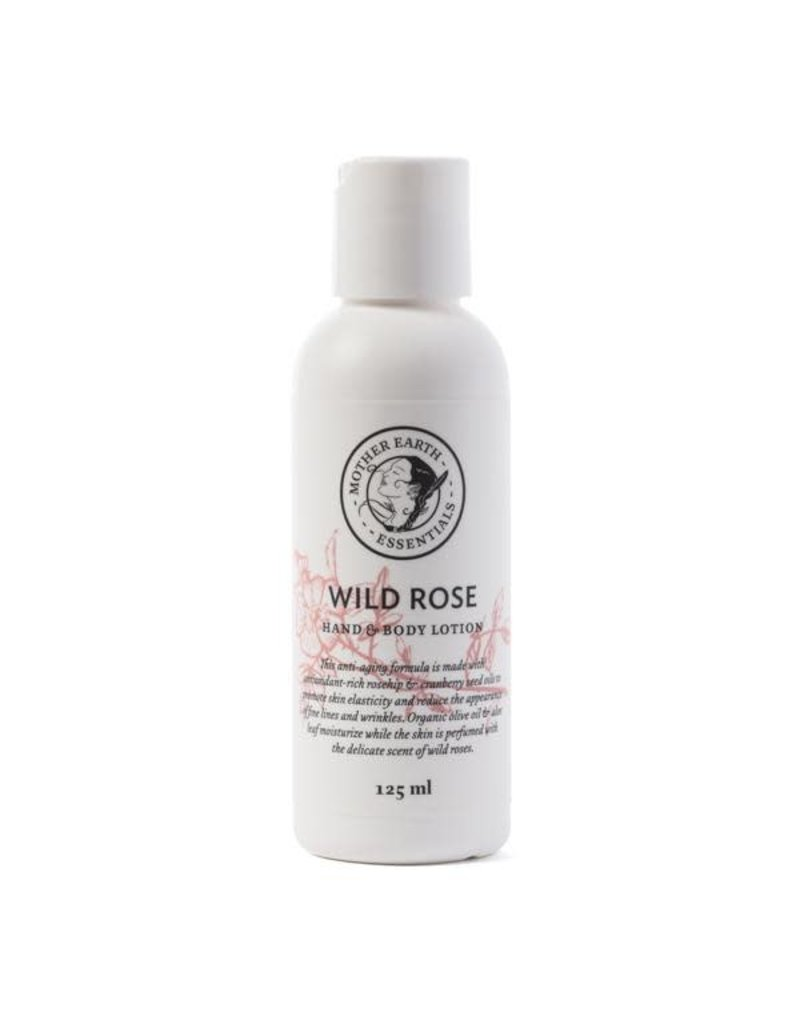Mother Earth Essentials Wild Rose Lotion- mother Earth