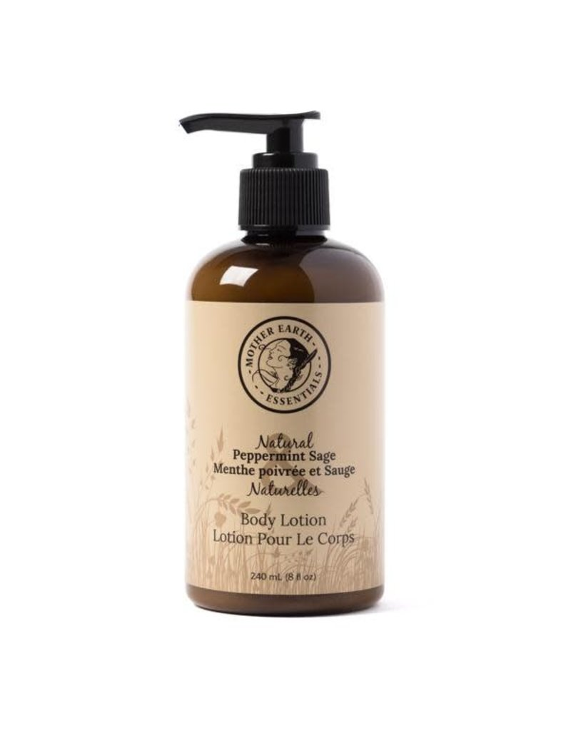 Mother Earth Essentials Peppermint Sage Lotion- Mother Earth