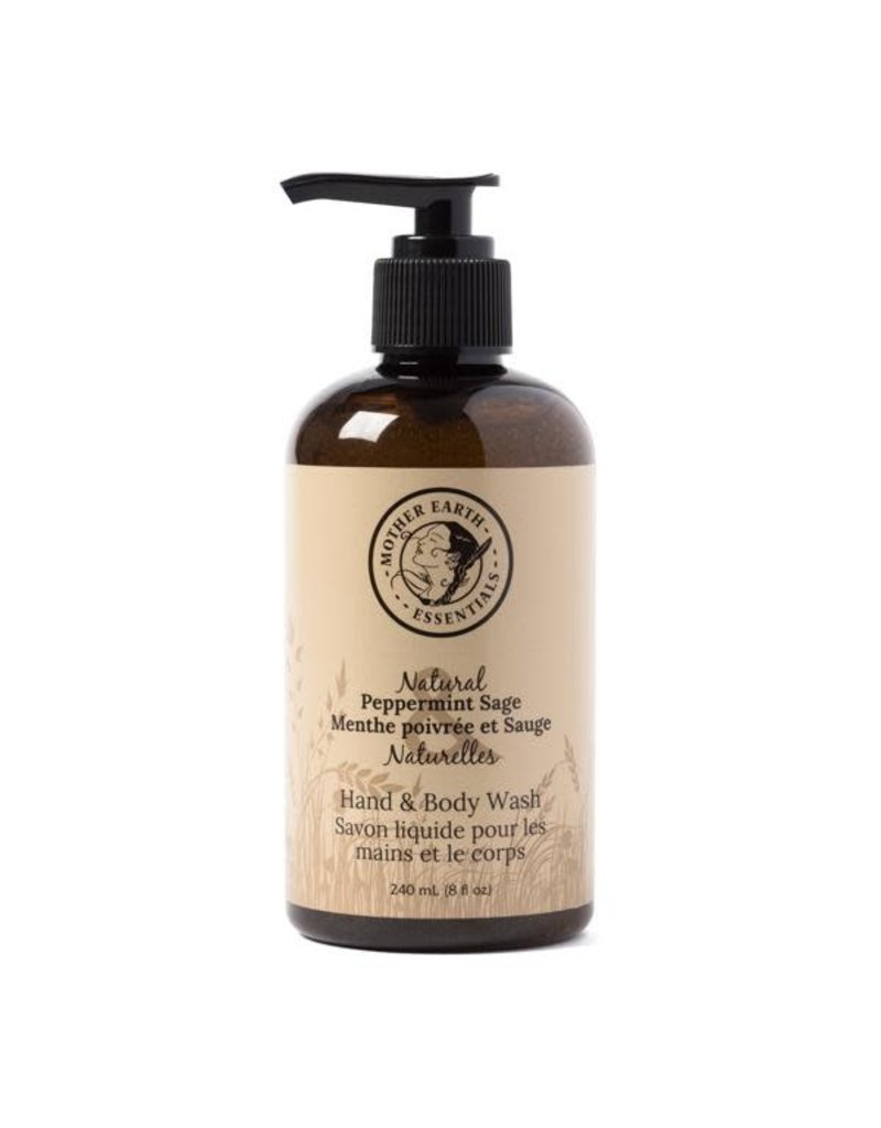 Mother Earth Essentials Peppermint Sage Body Wash
