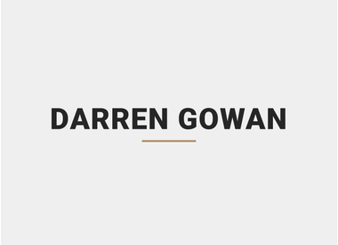 Darren Gowan