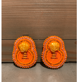 Evans, Amber Every Child Matters Clip on Beaded Earring