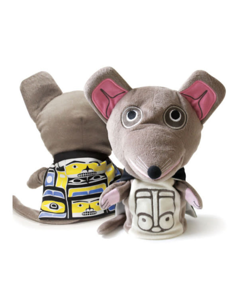 Native Northwest Mouse Woman Puppet