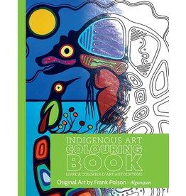 Canadian Art Prints Colouring Book Frank Polson