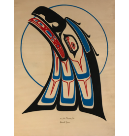 Amos, Darrel Haida Raven On Board
