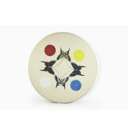 "Glendale, Joan 18"" Butterfly Drum Design"