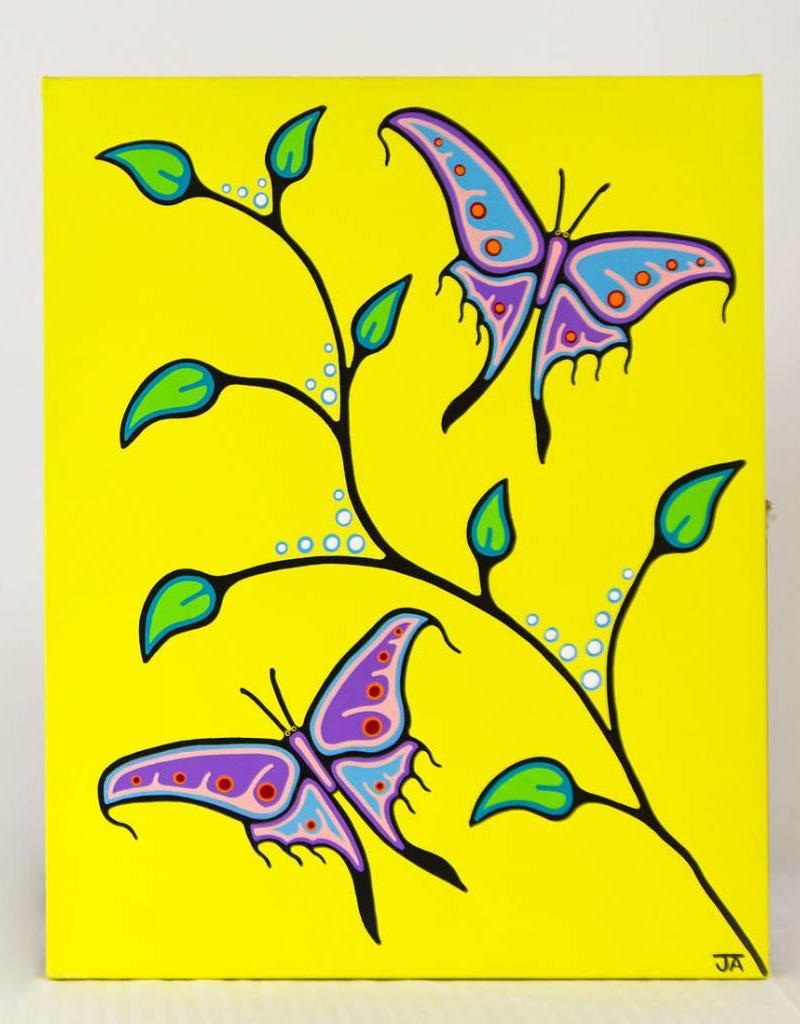 Adair, Jason Butterflies - Sharing the Medicine original JA