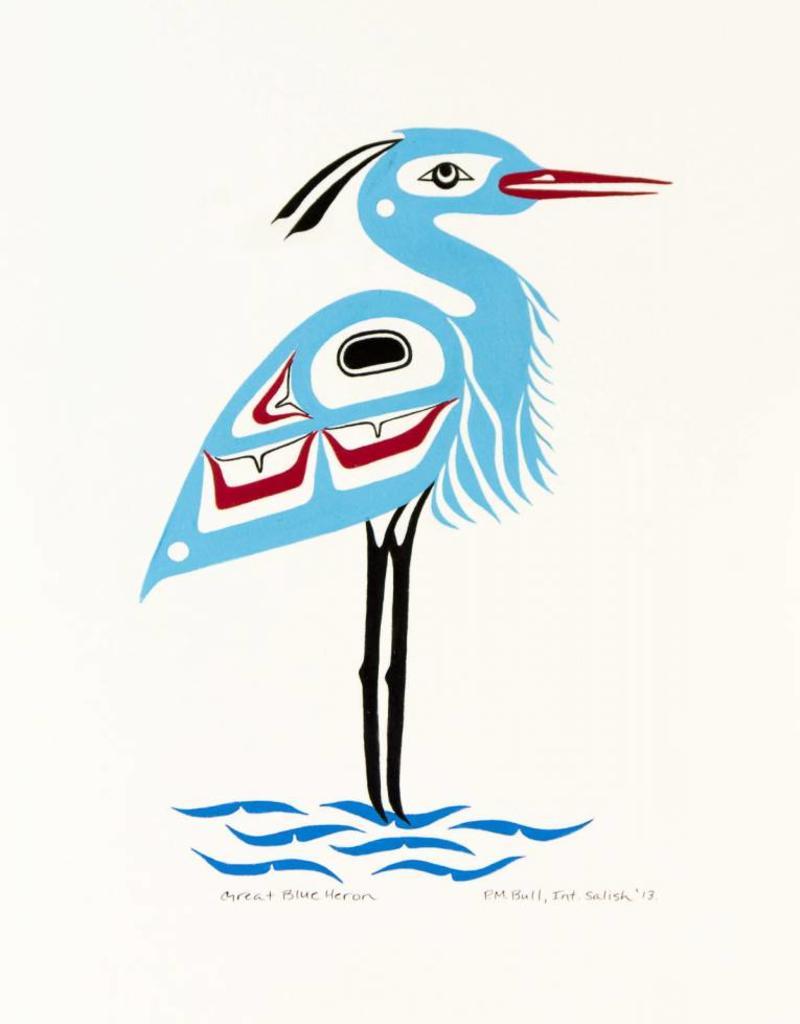 Bull, Pauline Great Blue Heron PB original