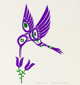 Bull, Pauline Hummingbird (purple) original PB