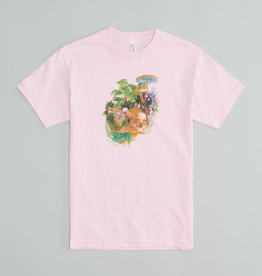 Île Soniq Pink  T-Shirt with Skull