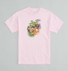 T-shirt rose Île Soniq squelette