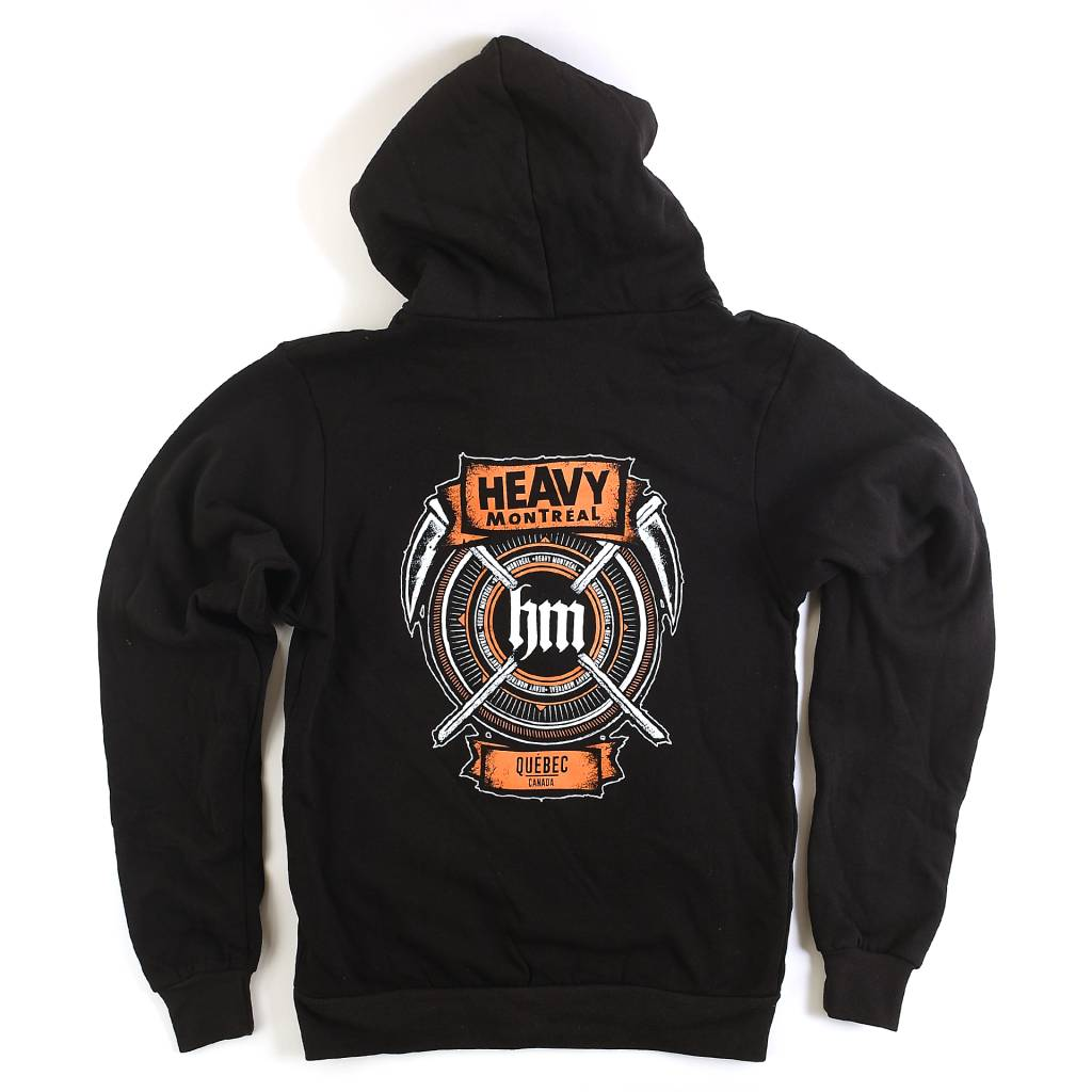 ORANGE MECHANICS ZIP-UP HOODIE (UNISEX)
