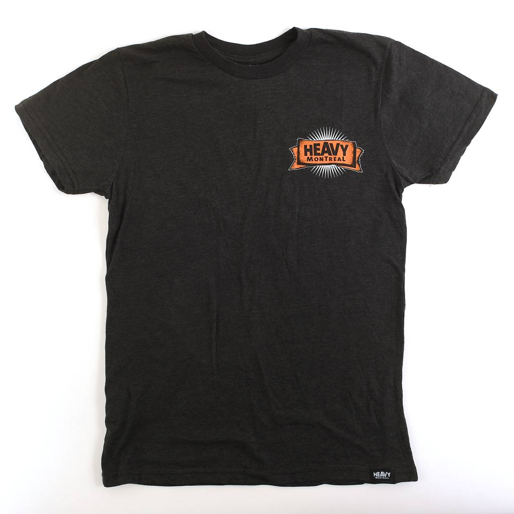 T-SHIRT ORANGE MECANIQUE