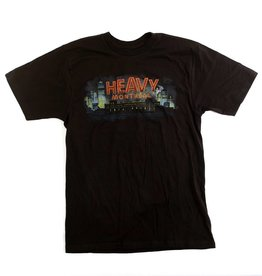HEAVY MONTREAL T-SHIRT HEAVY CITY LOGO COULEUR (UNISEXE)