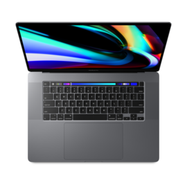 MacBook Pro 16-inch Touch Bar 2.6GHz 6-core 9th gen i7 16GB/512GB SSD