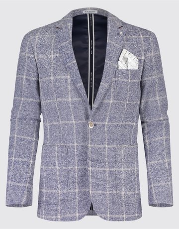 Blue Industry Blue Industry Textured Check Blazer
