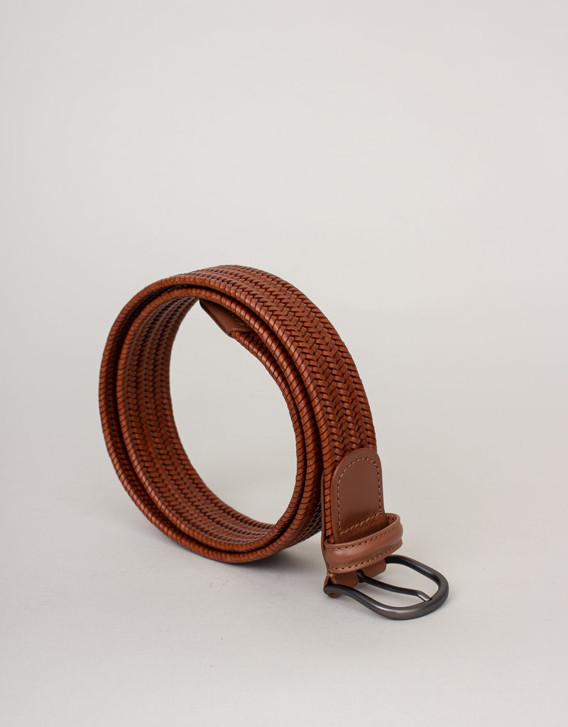 Anderson's Anderson's Woven Stretch Leather Belt
