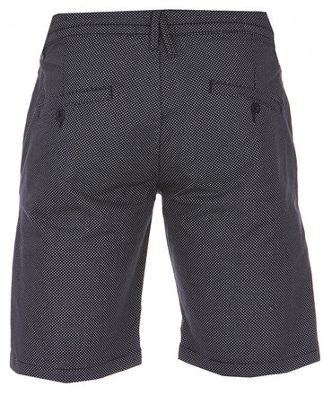 Blue Industry Blue Industry Micro Pattern Chino Short Navy