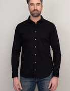 Desoto Desoto Long sleeve black shirt