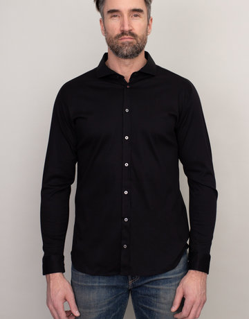 Desoto Desoto Long Sleeve Black Shirt