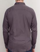 Desoto Desoto Long Sleeve Grey Shirt