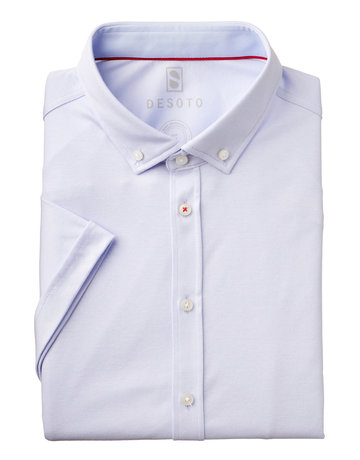 Desoto Desoto Short Sleeve Button Up White