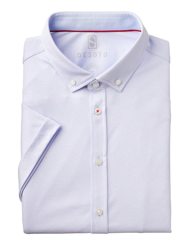 Desoto Desoto Short Sleeve Button Up White