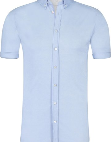 Desoto Desoto Short Sleeve Button Up Light Blue