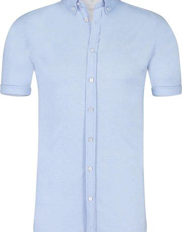 Desoto Desoto Short Sleeve Button Up Light Blue