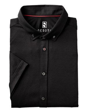 Desoto Desoto Short Sleeve Button Up Black