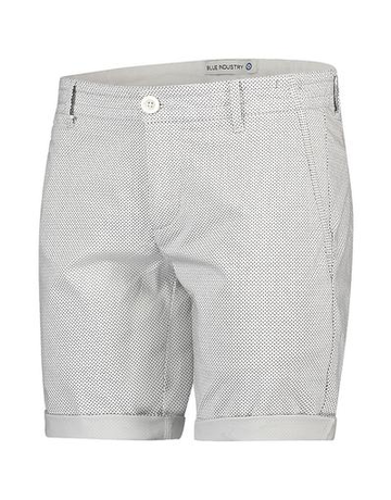 Blue Industry Blue Industry Print Shorts White