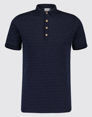 Blue Industry Blue Industry Striped Polo Navy