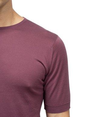 John Smedley John Smedley Belden T-Shirt Purple