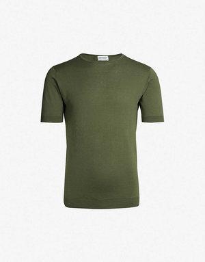 John Smedley John Smedley Belden T-Shirt Green