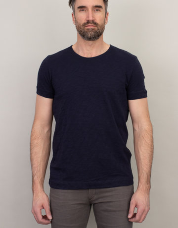 Samsoe & Samsoe Samsoe Scoop Neck T-Shirt Navy