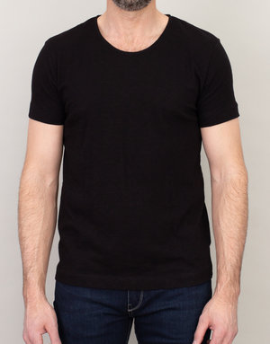 Samsoe Samsoe Crew Neck T-Shirt Black