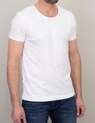 Samsoe Samsoe Scoop Neck T-Shirt White