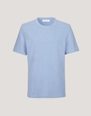 Samsoe & Samsoe Samsoe Barasat Bel Air Blue T-shirt