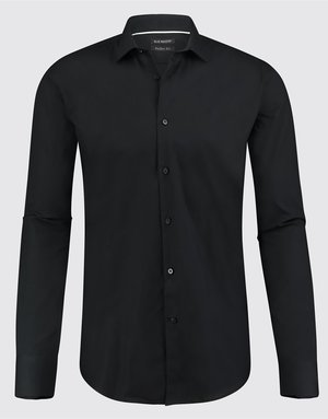 Blue Industry Blue Industry Max Kent Collar Shirt Black