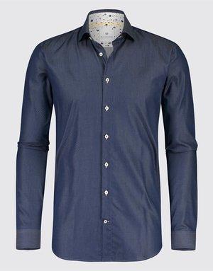 Blue Industry Blue Industry Micro Dot Shirt Navy