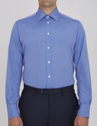 Turnbull & Asser Turnbull & Asser City Classic Button Up Blue