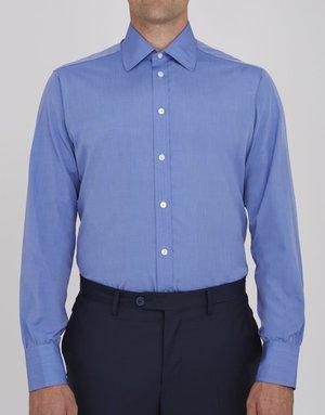 Turnbull & Asser Turnbull & Asser City Classic Button Up Blue