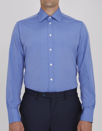 Turnbull & Asser Turnbull & Asser City Classic Button Up Blue Shirt