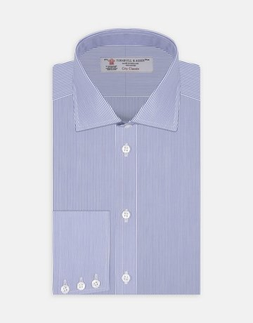 Turnbull & Asser Turnbull & Asser City Classic Button Up Bengal Stripe