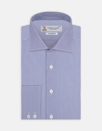 Turnbull & Asser Turnbull & Asser Tailored Fit Button Up Bengal Stripe