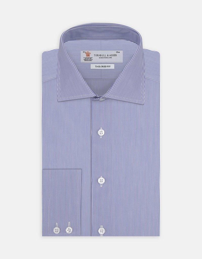 Turnbull & Asser Turnbull & Asser Tailored Fit Button Up Shirt Bengal Stripe