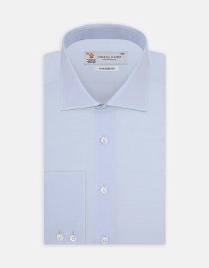 Turnbull & Asser Turnbull & Asser Tailored Fit Button Up Light  Blue