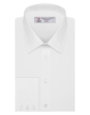 Turnbull & Asser Turnbull & Asser Classic Button Up White
