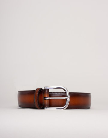 Anderson's Leather Belt Textured Light Brown