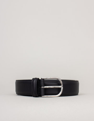 Anderson's Leather Belt Gloss Black